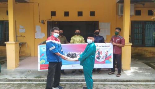 Pertagas Salurkan Bantuan Sosial dan Ekonomi di 5 Daerah di Riau