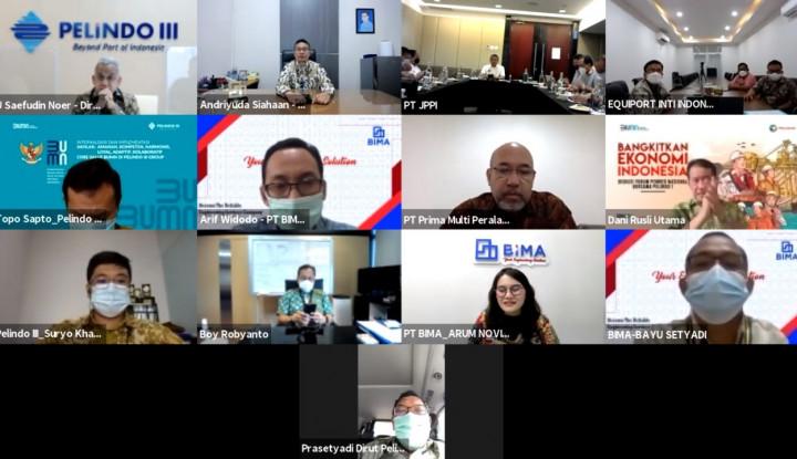 Tingkatkan Pelayanan Kepelabuhanan Indonesia, Pelindo Kolaborasi Engineering Companies