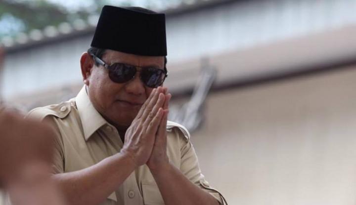 Prabowo Moncer di Survei, Pengamat: Gambaran Awal Peta Pilpres 2024
