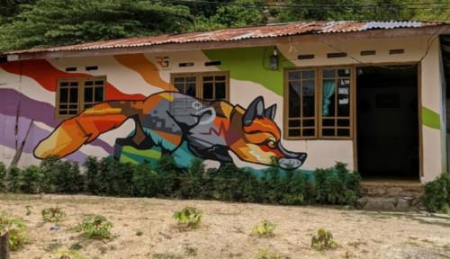 BSPS PUPR: Satu Desa di Kota Gorontalo Jadi Wisata Baru karena Mural Warna-warni