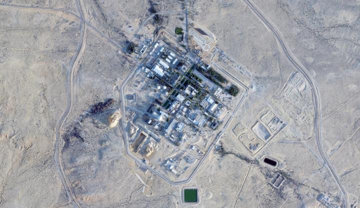 Gak Bisa Bohong Lagi, Citra Satelit Bongkar Semua Soal Pangkalan Nuklir Israel