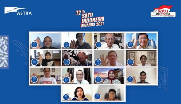 Astra Gelar Kick Off SATU Indonesia Awards 2021