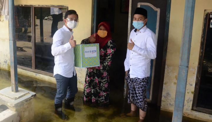 BTN Kucurkan Rp200 Juta Bantu Korban Banjir di Jateng
