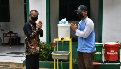 Tingkatkan Kesadaran Warga Soal Pentingnya Cuci Tangan, Mahasiswa UNS Rakit ACUTSIN