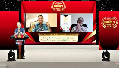 Bank Sumut Raih Penghargaan Indonesia Best BUMD Awards 2021