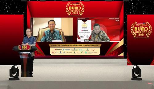 Bank Banten Raih Penghargaan Indonesia Best BUMD Award 2021