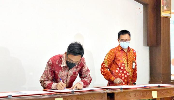 Bank Kalsel Gandeng PT Pos Indonesia Guna Optimalkan Pelayanan Kepada Nasabah