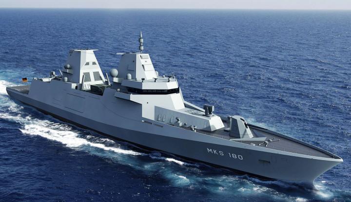 Posisi China Terpojok, Kapal Perang Jerman Mulai Bermanuver ke Laut China Selatan