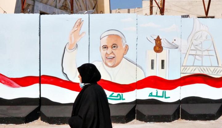 Heboh Kunjungan Paus Fransiskus sampai-sampai Irak Terjunkan Tentara Khusus karena...