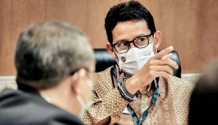 Menteri Baru Berkinerja Paling Moncer, Sandiaga Berbangga Hati