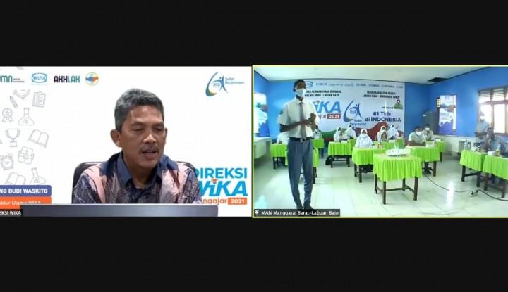 Digelar Virtual, Program Direksi WIKA Mengajar 2021 Jangkau 61 Titik Sekolah Seluruh Indonesia