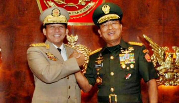 Jenderal Kudeta Myanmar Mau ke Jakarta, Mau Reunian Sama Pak Moeldoko?
