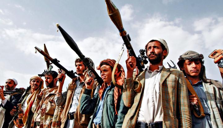 Sekolah-sekolah di Arab Saudi Jadi Korban Incaran Drone Houthi