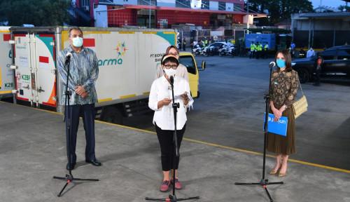 Indonesia Terima Kedatangan Pertama Vaksin AstraZeneca dari COVAX Sebanyak 1,1 Juta Dosis