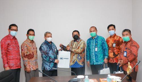 Untuk Tingkatkan Kerja Sama, Askrindo Syariah Sowan ke Direksi Bank Aceh