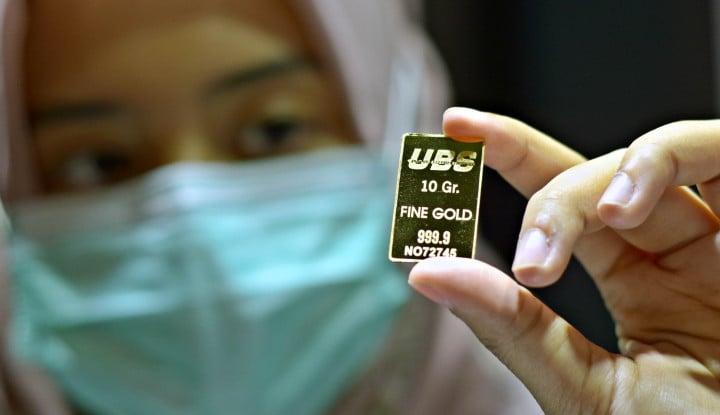 Pergerakan Harga Emas Hari Ini di Pegadaian: Antam Aman, UBS Gelar Diskonan!