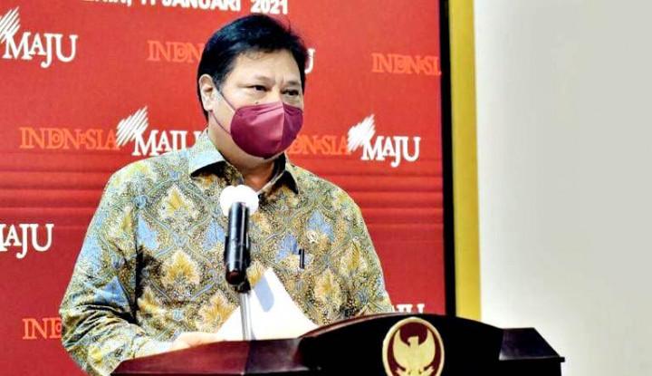 Foto Berita Ada 99% UMKM Terdampak Pandemi, Menko Airlangga: PEN Harus Dimulai dari UMKM, Ini Solusinya!