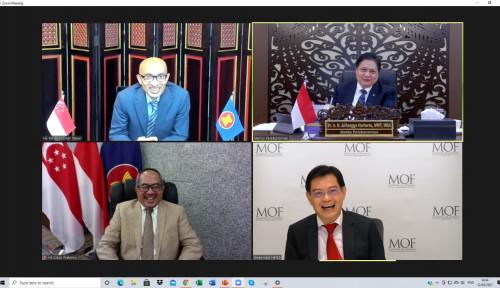 Indonesia-Singapura Sepakati Bangun 3 'Jembatan'