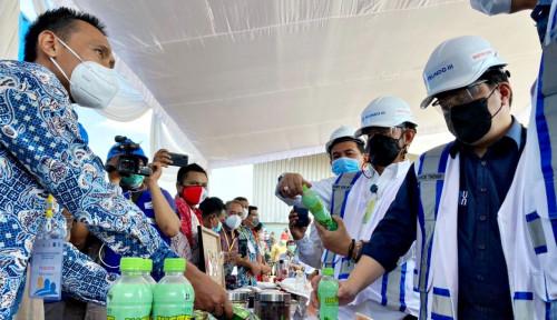 Mentan, Mendag, dan Menteri BUMN Lepas Ekspor Produk Pertanian Jawa Timur Senilai 140 Miliar