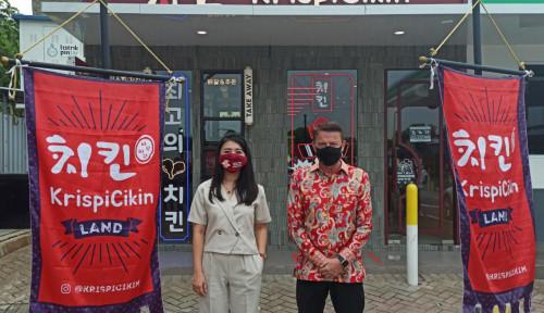Tawarkan Kuliner Khas Korea, 'KrispiCikin' Resmikan Store Pertama di Bintaro