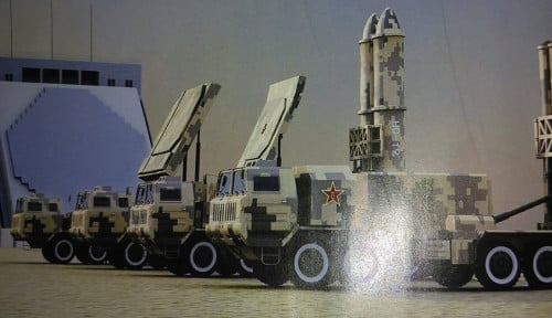 Saingi THAAD Milik AS, China Rilis Pencegat Rudal Anti-balistik HQ-19