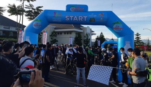 Le Minerale Berpartisipasi dalam Bandung Barat Triathlon 2021