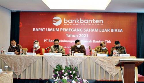 Gelar RUPSLB, Bank Banten Tetapkan Jajaran Dewan Komisaris dan Direksi Baru