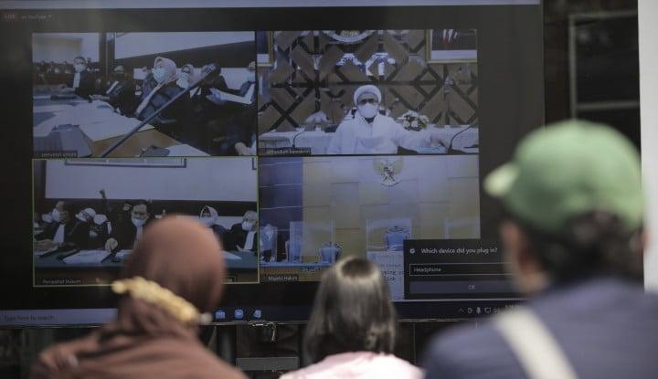 Rizieq Ngamuk Lagi dalam Sidang, Bib... Dengerin Nih Omongan Netizen: Ente Mirip sama Ahok