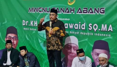 Sambangi MWC NU Tanah Abang, Gus Jazil Ingatkan Pentingnya Tradisi Lailatul Ijtima'