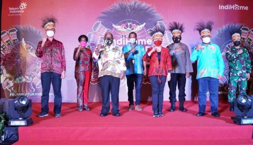 Wujudkan Pemerataan Akses Internet, Telkom Selenggarakan IndiHome Wonderful Papua