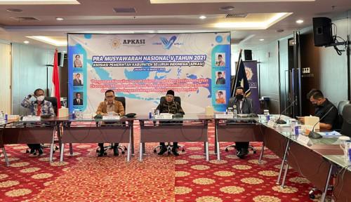 Temui Pak Tito, Apkasi Laporkan Persiapan Munas V 2021 di Jakarta