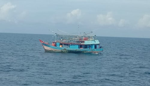 KKP Jaring Delapan Kapal yang Langgar Aturan di Laut Natuna dan Perairan Madura