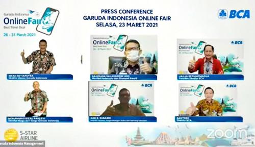 Catat Tanggalnya, Garuda Travel Fair Kasih Promo Tiket Hingga 85 Persen