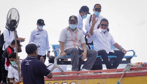 Pembudi Daya Lobster di Telong Elong Sukses Bikin Menteri Trenggono Melongo