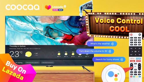 Coocaa Hadirkan TV Pintar Berbasis Android di Ultah Lazada