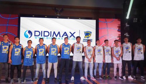 Sasar Milenial, Didimax Berjangka Sponsori Tim Basket Prawira Bandung di IBL 2021