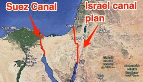 Pejabat Terusan Suez Pastikan Angin Kencang Bukan Penyebab Kapal Kandas tetapi...
