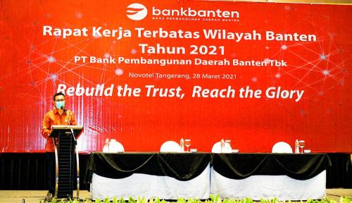 Tahun 2021, Bank Banten Siap Bangun Kembali Kepercayaan Publik