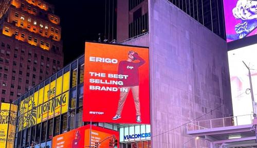 Perjalanan Erigo dari Indonesia ke Times Square, New York