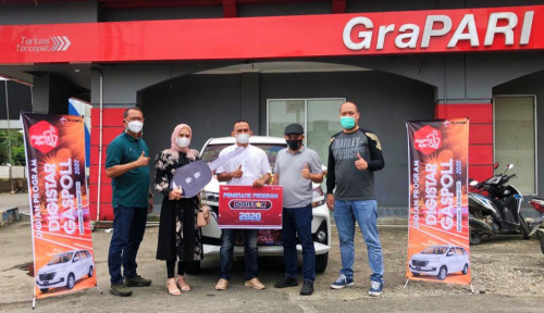 Mitra Outlet di Samarinda Raih 1 Unit Mobil Toyota Avanza  Program Digistar 2020