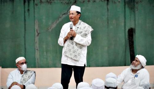 Kunjungi Ponpes Rubath Di Palembang, Fadel Muhammad Motivasi Santri Agar Tekun Belajar