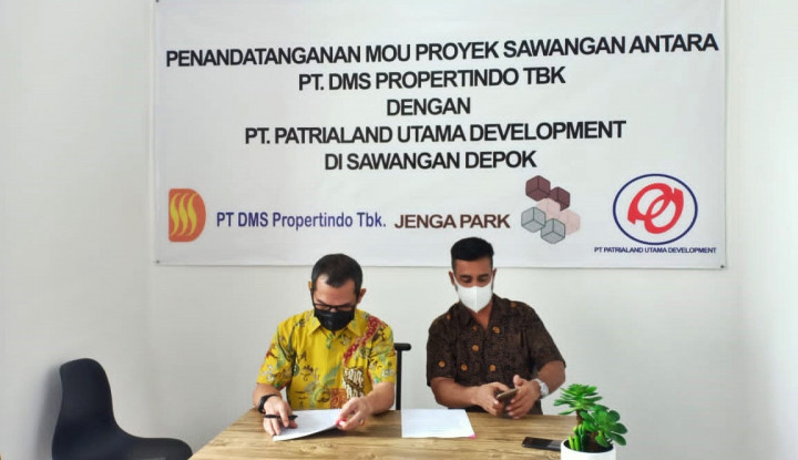 KOTA Gandeng Patrialand Utama Development, DMS Propertindo Kembangkan Kawasan Hunian Berkonsep Modern