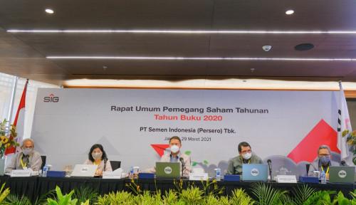 Pemegang Saham Ketiban Durian Runtuh, Semen Indonesia Alokasikan Dana  Rp1,2 Triliun untuk Dividen