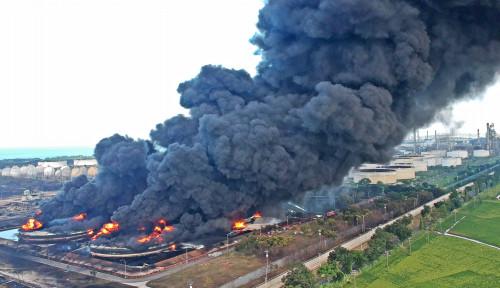 Polisi Dugaan Sementara Penyebab Kebakaran Kilang Pertamina Balongan