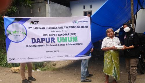Gandeng ACT, Askrindo Syairah Salurkan Dana CSR ke Bantu Korban Bencana Alam di Tanah Air