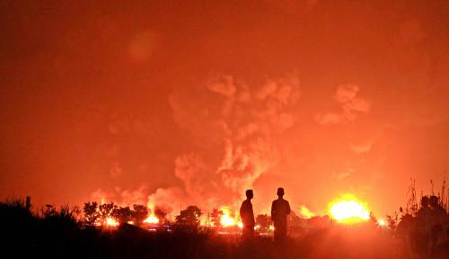 Simpulan Soal Petir Terkait Kebakaran Tangki Balongan Dianggap Terlalu Dini