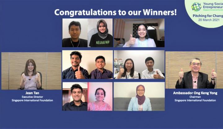 tim indonesia berhasil menangkan program virtual global di singapura