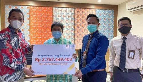 BNI Life Bayarkan Klaim Debitur Bank Syariah Indonesia Rp2,7 Miliar