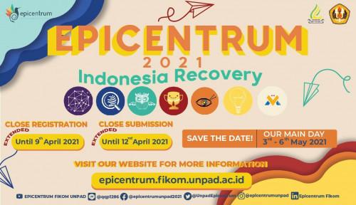 Bertema 'Indonesia Recovery', Unpad Gelar Festival Komunikasi Epicentrum 2021