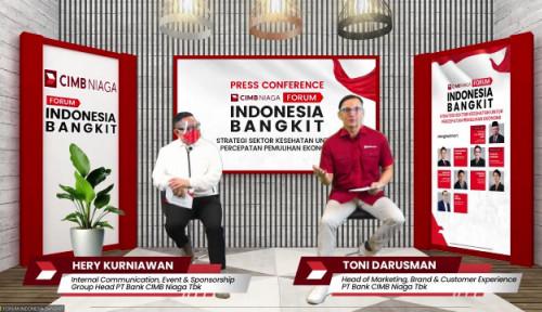 Bangun Optimisme dalam Percepatan Pemulihan Ekonomi, CIMB Niaga Gagas Forum Indonesia Bangkit